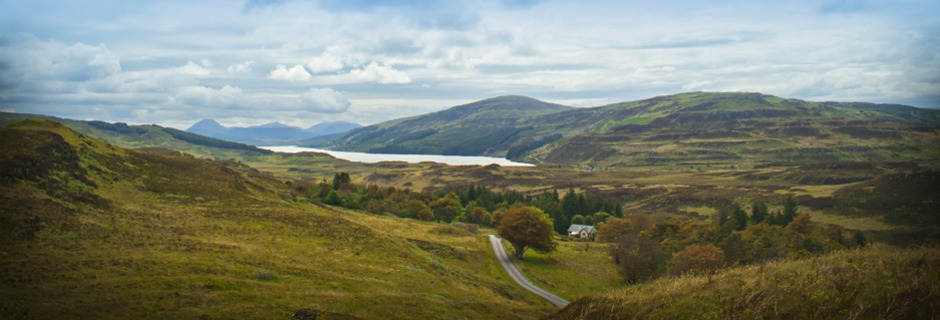The landscape of Mull